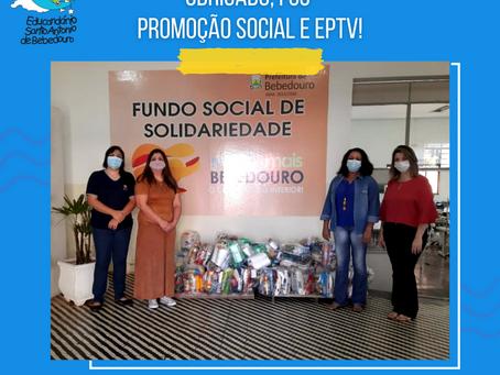 Obrigado FSS, Promoção Social e EPTV!