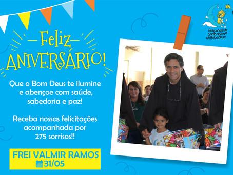 Parabéns querido Frei Valmir!