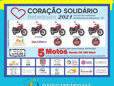 Rifa Coração Solidário 2021