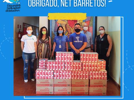 Obrigado, Net Barretos!