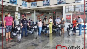 Ganhadores receberam prêmios da Campanha Coração Solidário