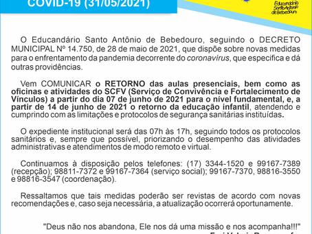 Comunicado 31-05