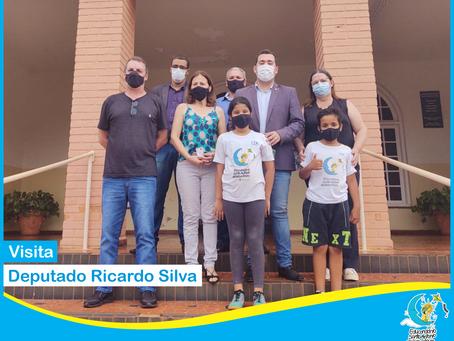 Visita Deputado Ricardo Silva