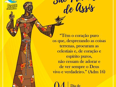 Viva São Francisco de Assis!