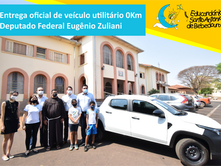 Entrega oficial de veículo utilitário 0Km
