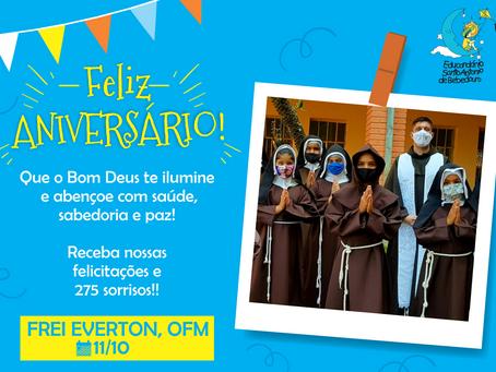 Parabéns, Frei Everton!