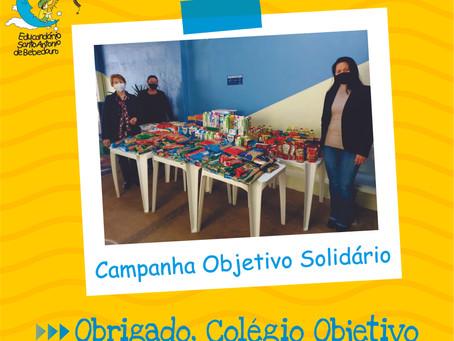 """""""Campanha Objetivo Solidário"""""""