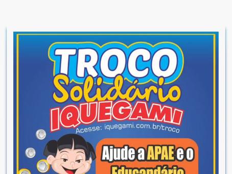 Troco Solidário Supermercados Iquegami