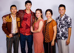 The cast of Vietgone