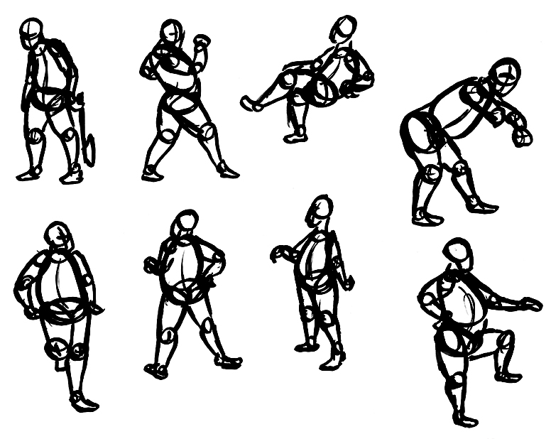 2 Minute Construction Gestures