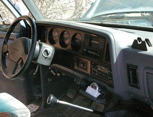 Dodge Ram Cummins First Gen Interior