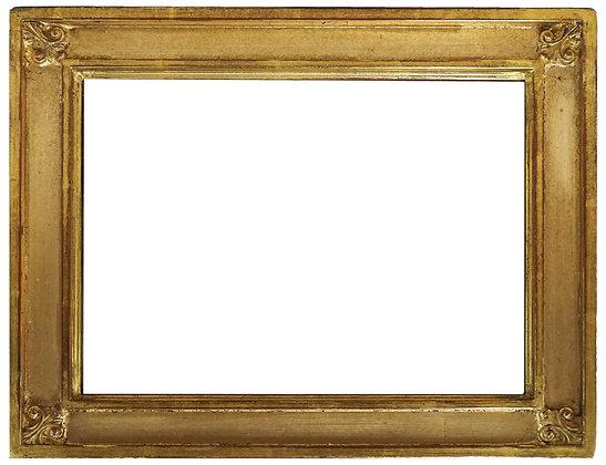 9x12 Louisa Ornate Fluer-dis-lis 22k