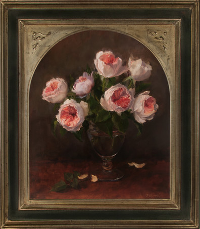 Juliet Roses by Pamela Newell