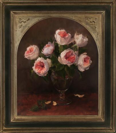 Juliet Roses by Pamela Newell