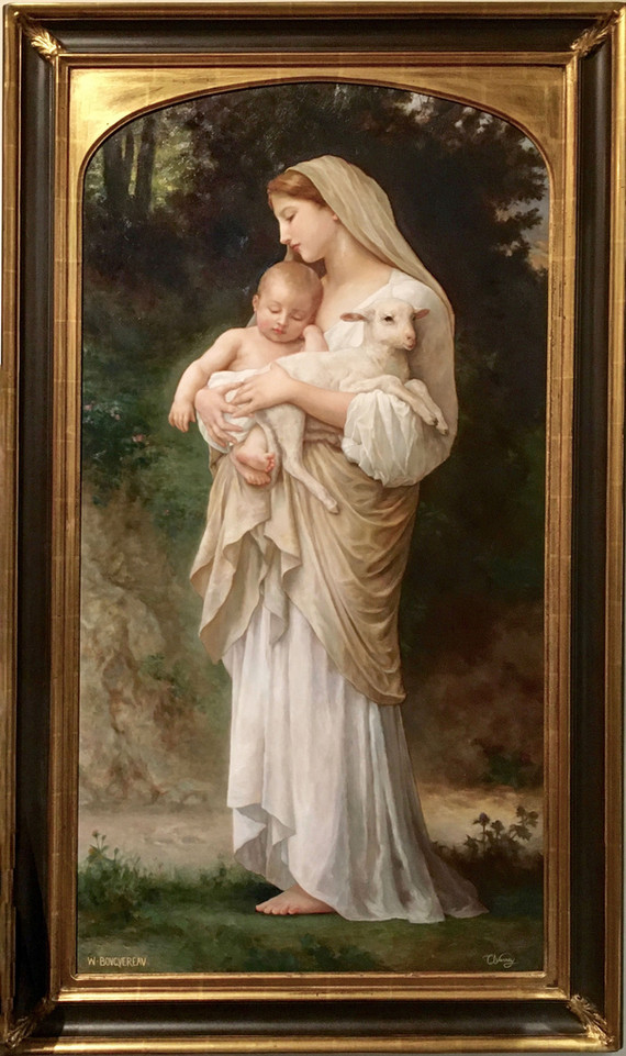 L'Innocence by William Adolphe