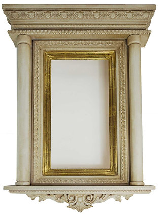 7x14 Ornate White Tabernacle 22k