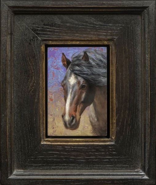 Young Roan Stallion by Chauncey Homer