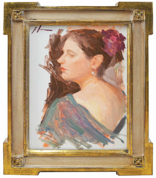 Brigitte Study by Casey Childs