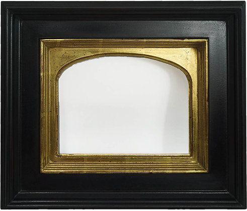8x10 Horizontal Arch Florentine 22k Light Antique