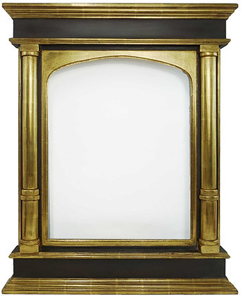 18x24 Rounded Column Tabernacle Vertical Arch 22k (Tab6)