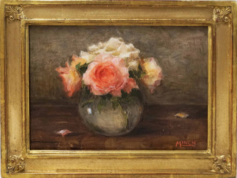 Brigitte's Roses by Stacy Minch