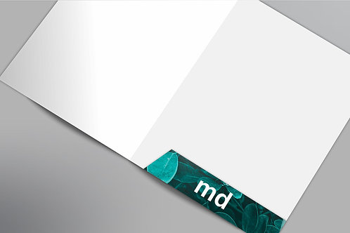 Folder con bolsa interior