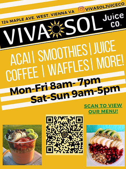 Acai bowls Pitaya/ dragonfruit Juice bar Smoothie bowls Smoothies (different from smoothie bowls) Banana whips Avocado toast Brunch Gluten free Plant based plant-based, gluten-free