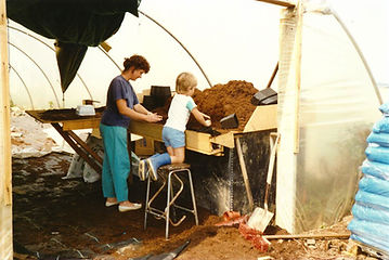 1989 Summer Ann & Nicholas potting.jpg