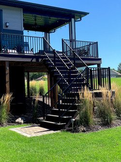 Deck + Staircase