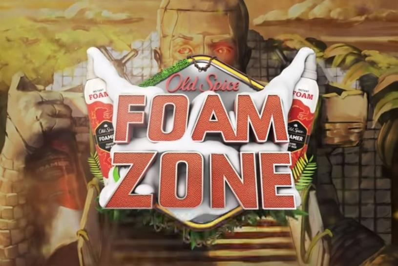 FOAM ZONE OLD SPICE