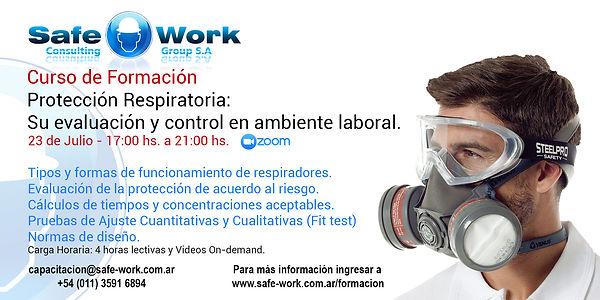 Protección Respiratoria: Su evaluación y control en ambientes laborales.