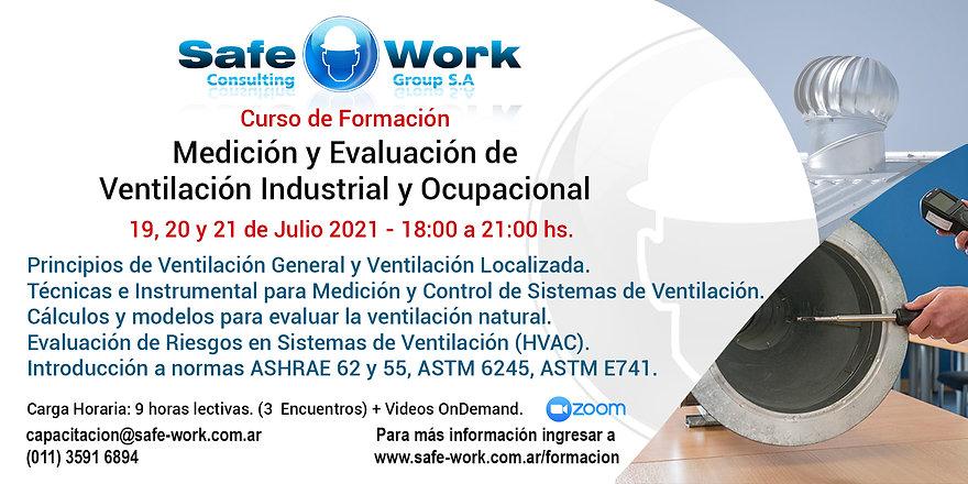Medición y Evaluación de la Ventilación Industrial y Ocupacional