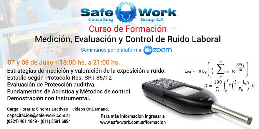 Medición, Evaluación y Control de Ruido Laboral