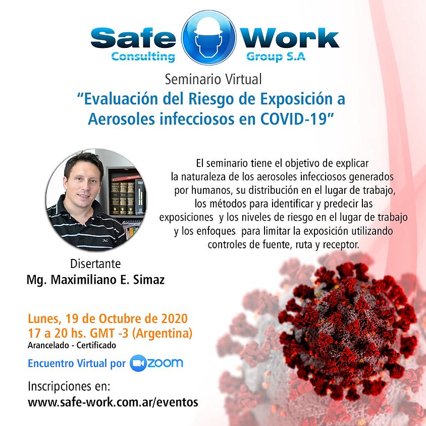 Evaluación del Riesgo de Exposición a Aerosoles infecciosos en COVID-19