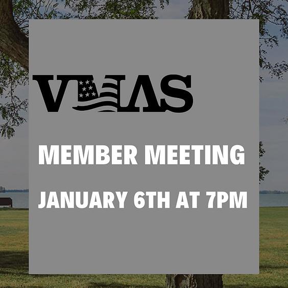 VMAS Monthly Meeting | January 2021
