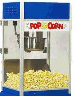k.u.b. popcorn machine