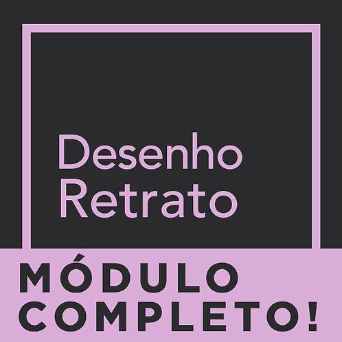 MÓDULO COMPLETO - DESENHO DE RETRATO