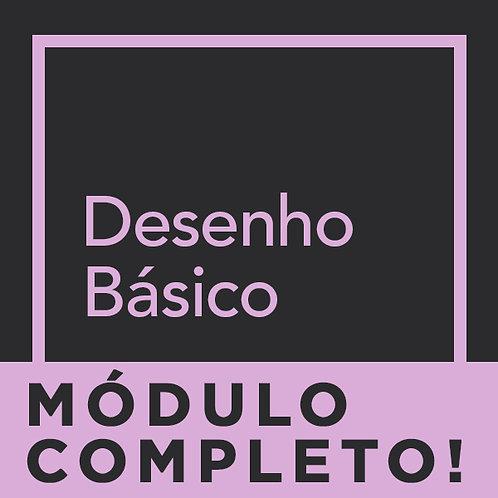 MÓDULO COMPLETO - DESENHO BÁSICO