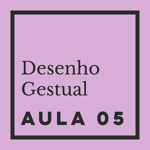 AULA 05:  Gestual de retrato