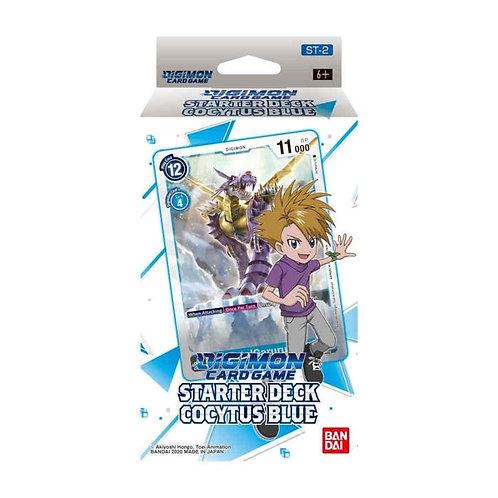 (JAN) Digimon Card Game Series 01 Starter Display 02 Cocytus Blue