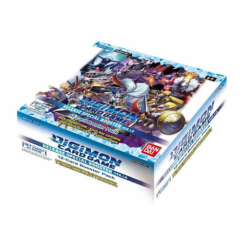(JAN) Digimon Card Game Series 01 Special Booster Display Version 1