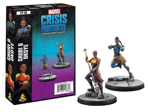 Marvel Crisis Protocol - Shuri & Okoye Expansion