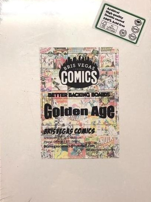 Comic Boards Golden Age - Better Backing Boards
