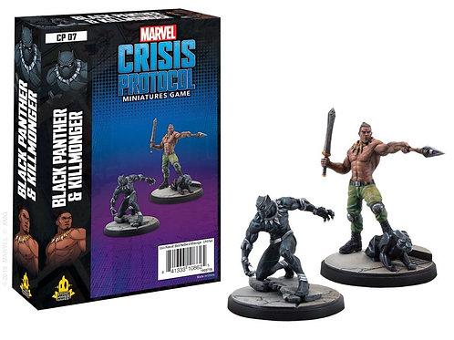Marvel Crisis Protocol - Black Panther and Killmonger Expansion