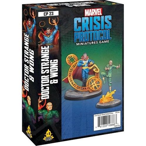 Marvel Crisis Protocol - Dr Strange and Wong Expansion