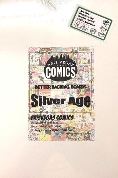 Comic Boards Silver Age - Better Backing Boards