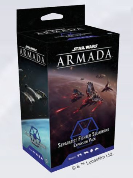 copy of Star Wars Armada Seperatist Fighter Squadrons Expansion Pack