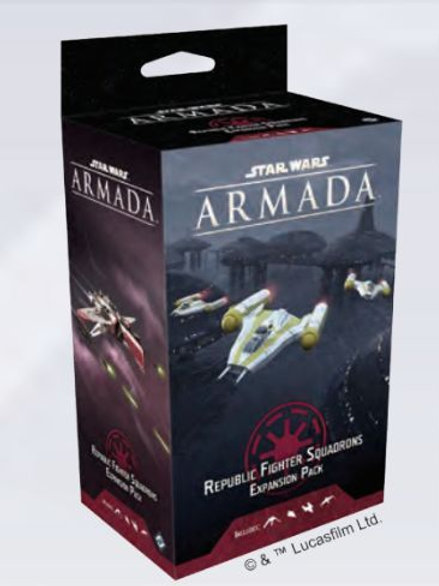 Star Wars Armada Republic Fighter Squadrons Expansion Pack