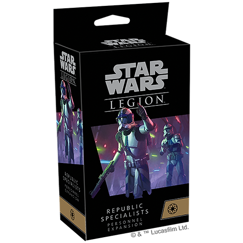 Star Wars Legion Republic Specialists Personnel Expansions