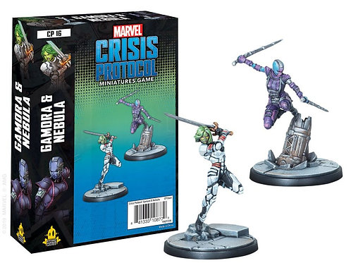Marvel Crisis Protocol - Gamora and Nebula Expansion